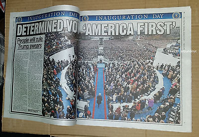 NY POST DONALD TRUMP POWER TO YOU THE PEOPLE INAUGURATION SPECIAL 1/21/2017 NEW