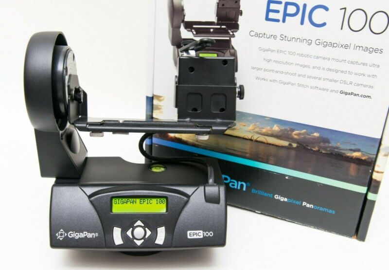 GigaPan Epic 100 Panorama System Low Use Mint