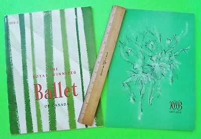 1956 - 57 ROYAL BALLET OF WINNIPEG CANADA PROGRAM w/ RARE LOBBY CARD 42-pgs XLNT