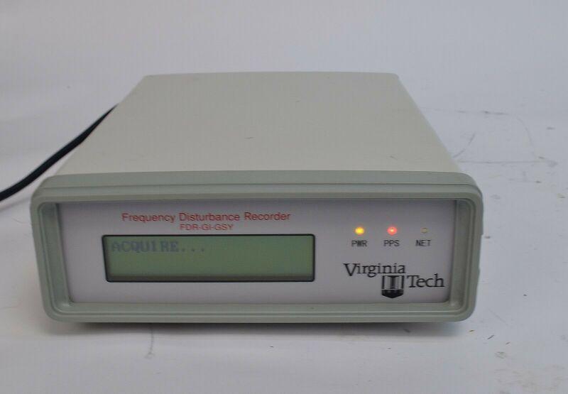 VT FDR-GI-GSY FNET GridEye Frequency Disturbance Recorder FDR GPS Ethernet