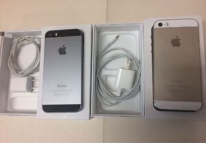 2 iPhone 5s 16gb Gold and Space Gray