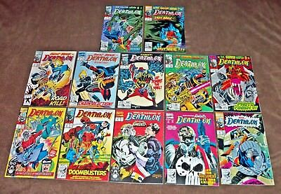 DEATHLOK Comic Lot #2, 5, 6, 7, 8, 9, 10, 11, 12, 13, 14, 15 Marvel UNREAD NM+