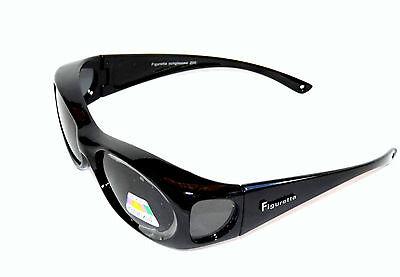 Figuretta Sonnen- Überbrille UV 400 Polarisiert schwarz aus TV Werbung