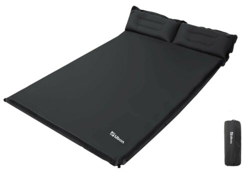 Ubon 2 Person Camping Sleeping Pad Self Inflating Camp Mattress Insulated Thick