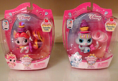Disney Whisker Haven Sweetie Tales Set of 2 ROUGE THE KITTY & SLIPPER THE KITTY