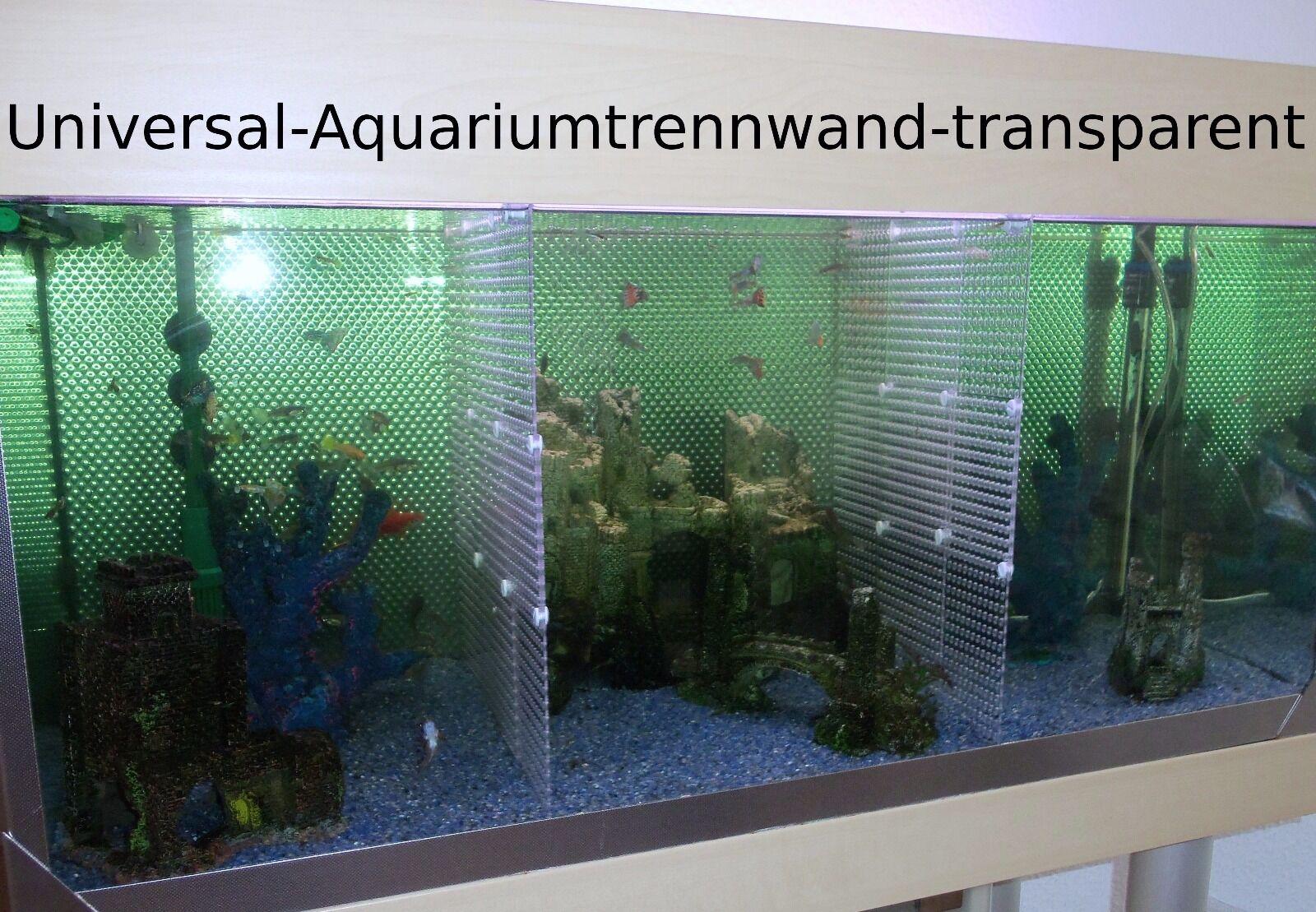 Aquarium-Universal-Trennwand -für- Aquarien Fische-Kampffische-Diskusfische u.a