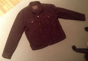 Men's Levi Brown Denim Jacket