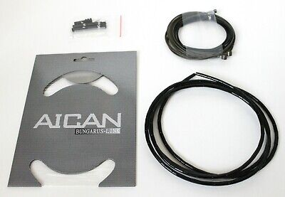 AICAN Ultralight Super Smooth inner cable SHIFT DERAILLEUR Housing set kit,White