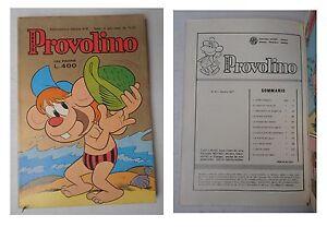 Provolino-super-51-Lire-400-Agosto-1977-Edizioni-Metro-132-pagine