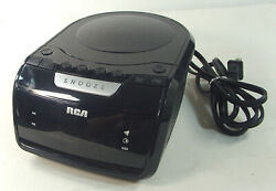 RCA Alarm Clock Radio CD Player RP5605-B