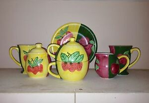 Teapot Set - Country Inn Collection