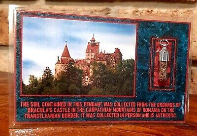 Dracula Castle Bran Dirt Soil Charm Pendant Location  Piece