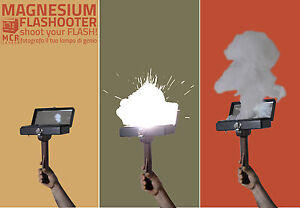 NEW-MAGNESIUM-FLASH-FLASHOOTER-VINTAGE-PHOTOS-COLLODION-FILM-COLLODIO-brass-lens