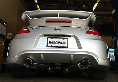 High Performance Light Weight Axle Back Exhaust for 370Z NISMO 09 - High Performance Exhaust