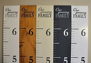 Our Growing Family Growth Charts