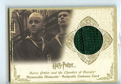 Harry Potter Memorable Moments C2 Costume Card Tom Felton Draco Malfoy 129/170
