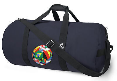 SOCCER Duffel Bag BEST WORLD CUP FAN DUFFLE BAGS Luggage Suitcase Travel (Best World Traveler Bags)