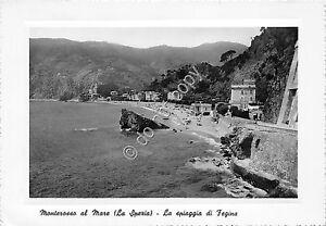 Cartolina-Postcard-Monterosso-al-Mare-Spiaggia-di-Fegina-1952