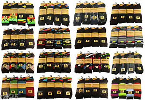 12-Pairs-of-Mens-Designer-Socks-Cotton-Rich-Designs-by-SockStack-Size-6-11