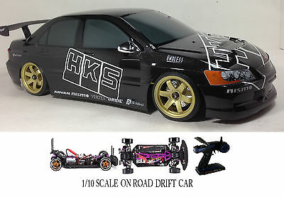 Scale Mitsubishi Lancer Evo Rtr Rc Drift Cars