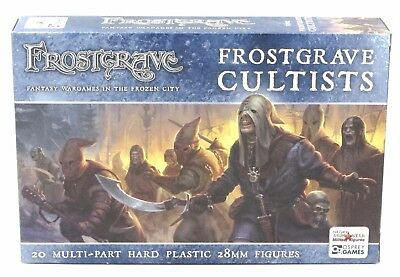 Frostgrave FGVP02 Cultists (20 Plastic Miniatures) Chaos Death Cult Followers