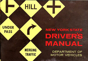 New York State Driver 39 S Manual 1962 Department Of Motor