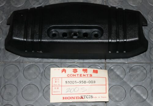 NOS Honda Handlebar Cover 1984-86 ATC200S 83 ATC185S 53205-958-003 New BINL
