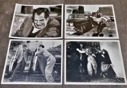 The Last Man on Earth *7 Original French Lobby Cards 8x10 *1964 V. Price RR70