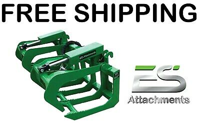 Es 60 Grapple- New John Deere Quick Attach Tractor Loader - Free Shipping