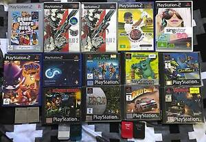SONY PLAYSTATION 1 AND 2 GAMES + ACCESSORIES Colyton Penrith Area Preview