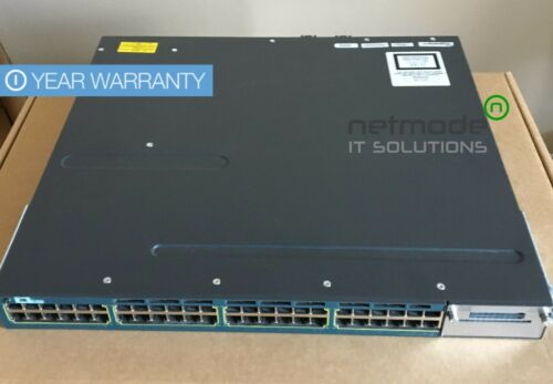 Cisco Ws-c3560x-48p-s 48-port Poe+ Gigabit Ip Base Managed Switch 715w Ac 3560x
