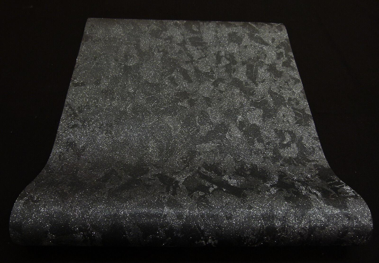 0231620) moderne Vliestapete schwarz mit Glitzer Jackpot