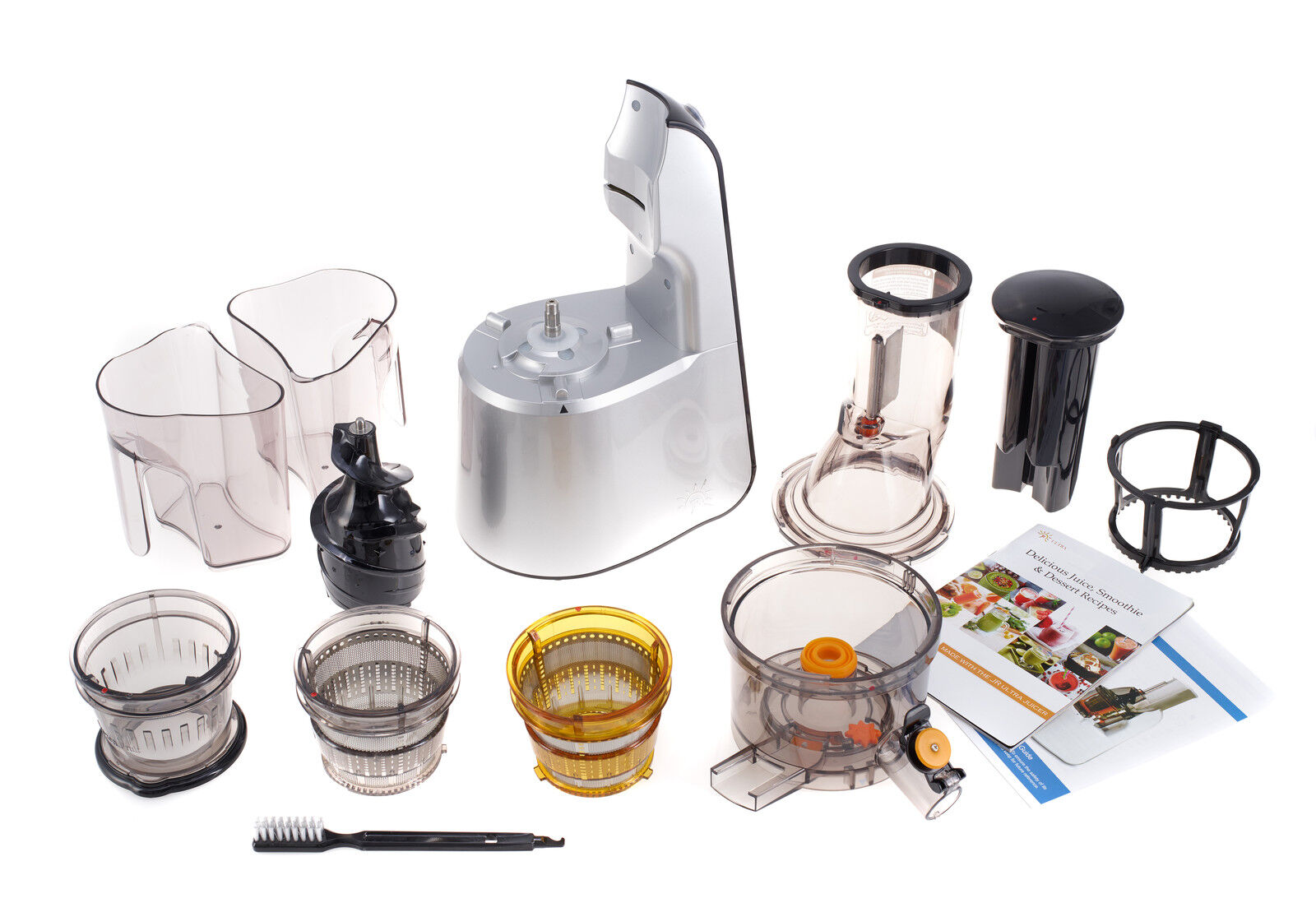 Jr Ultra 8000 S Whole Slow Juicer Review : JR Ultra 8000 S Whole Fruit Masticating Slow Juicer, Smoothie Maker EUR 223,75 - PicClick IT