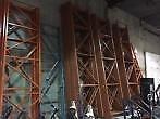 Warehouse racking unirak/redirack beams and end frames available