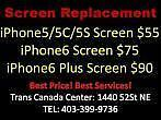 ***iPhone Screen Replacement*** Store Repair