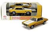 1:43 Classics - Holden HQ Monaro GTS Sedan Sunburst Metallic with White Stripe
