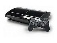 250gb ps3 on 3.55cfw with 20 games minehead £90