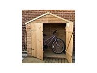 Garden Shed for bike storage