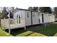 Static caravan at seton sands