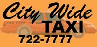 Looking for a full time night driver for City Wide Taxi