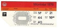 Want Montreal olympic 1976 pins,tickets,gymanistic,cermonies etc
