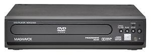 DVD player with movie collection
