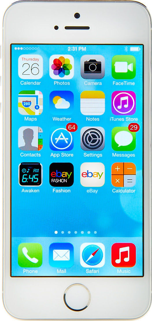Apple iPhone 5s - 16GB - Silver (T-Mobile) A1533 (GSM)