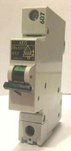 AEG ME81S B13 Circuit Breaker Switch 13 Amps 1 Pole EE Controls ME81SB13