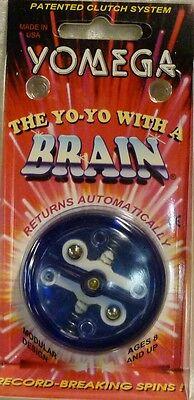 Yomega Brain -- Yoyo -Jojo- Jo-jo - Yo-Yo - Neu & OVP - Blau - USA