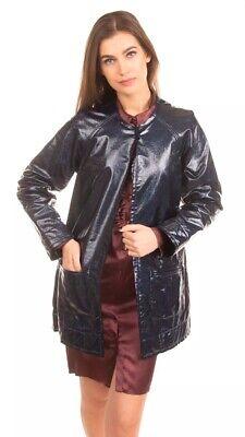 JIJIL Glitter Wet Look Coated Jacket Size 38   XS   RRP £150