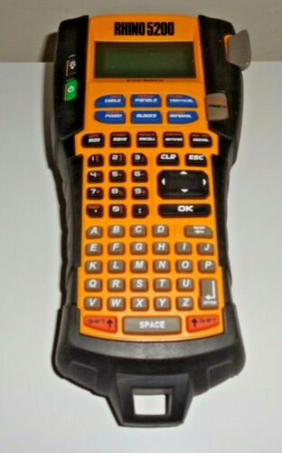 DYMO Industrial RHINO 5200 Label Maker for parts or repair & FREE SHIPPING