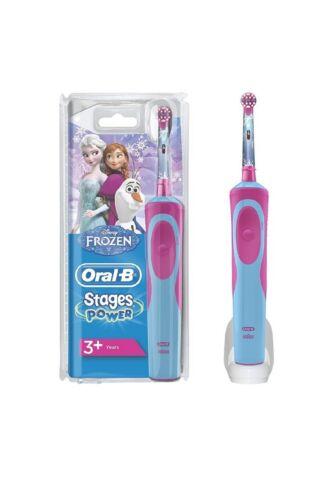 Oral-B Stages Power Kids Elektrische Kinderzahnbürste, im die Eiskönigin )