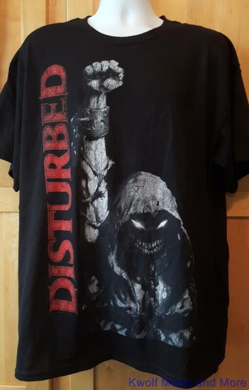 """DISTURBED T-Shirt  """"Up Your Fist"""" Official/Licensed  S, M, L, XL, XXL  NEW"""