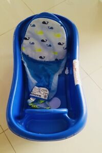 Baby bath with removable insert